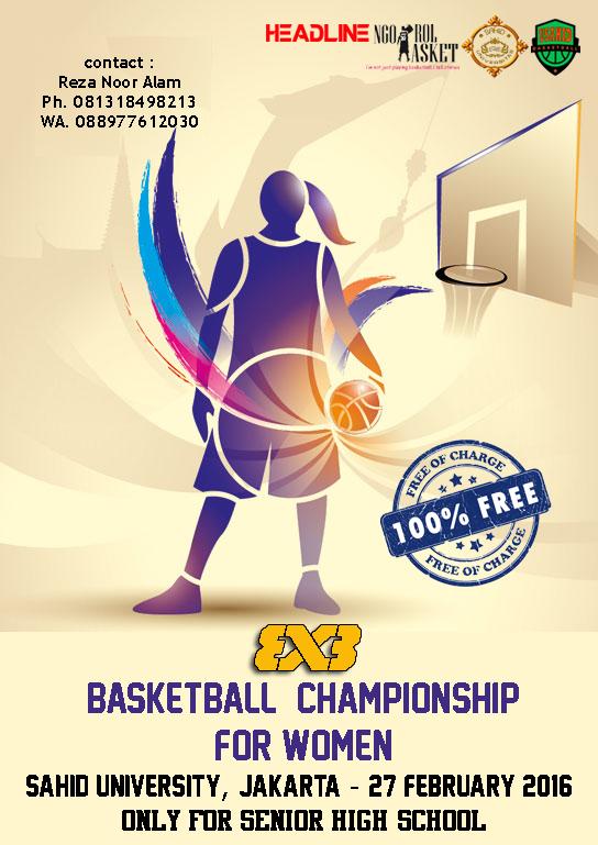 3×3 Basketball Championship for Woman