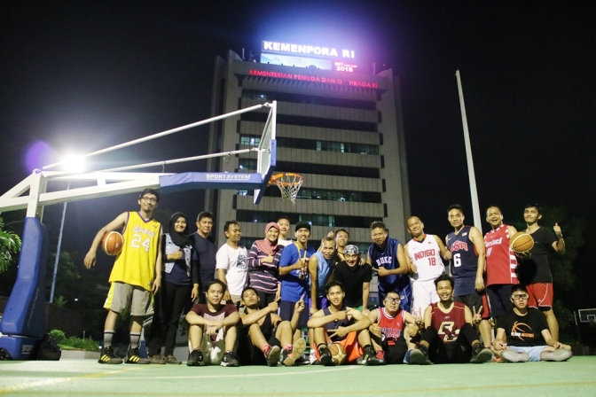 Basket Bugar Bersama Kemenpora RI