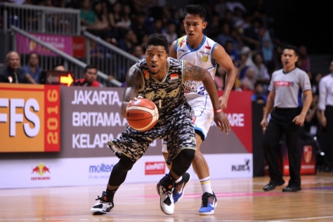 Jamarr Andre Johnson cetak double double (19 poin dan 12 rebound)-IBL