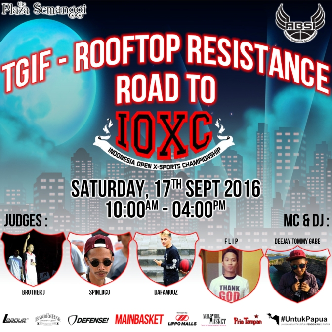 TGIF- Rooftop Resistance Road To IOXC 2016