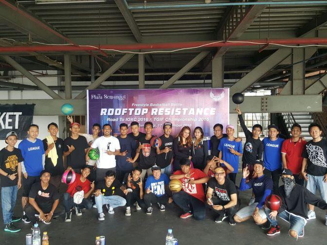 Panasnya Battle para Freestyler Basket Indonesia menuju IOXC 2016