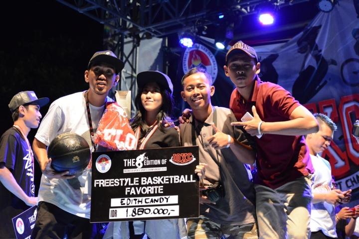 Favorite Freestyler TGIF 2016 Edith Pingkan a.k.a Candy @e.dittth Depok Stars Crew