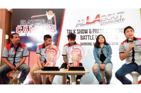 Press Conference #alLAboutCommunity Battle of Campus 2016