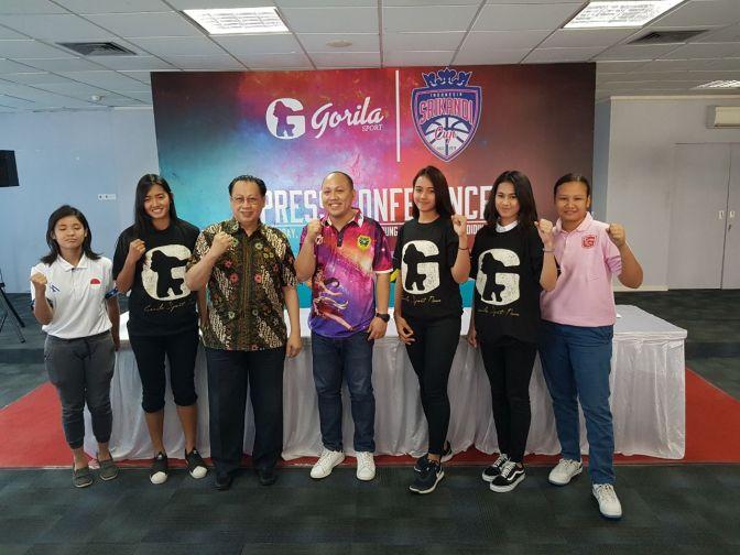 Gorilasport Jalin Kerjasama Dengan Srikandi Cup Sebagai Sponsor Utama